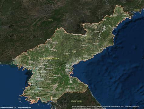 satellite maps image gallery korea satellite map