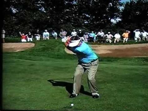 justin rose swing vision swing vision sergio garcia 2009 1wd slow motion by carl
