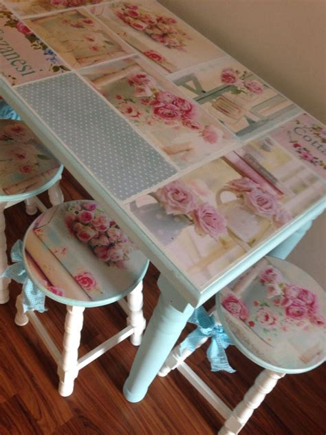 Decoupage Kitchen Table - mutfak masasi takimi country mutfak masas箟 kitchen table