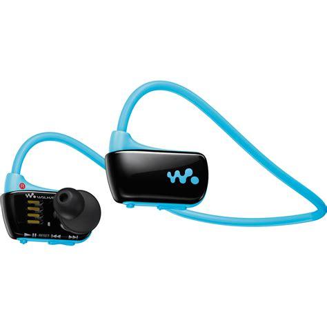 Sony Walkman Sports Mp3 Player Nwz W273 4gb Blue Garansi Resmi sony nwz w273 w series walkman sports mp3 player