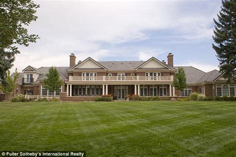 inside peyton manning s 4 6million denver home nfl