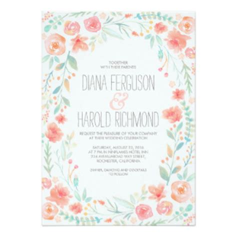 Water Themed Wedding Invitations by 14 Watercolor Wedding Invitations We Seriously