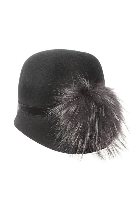 5 Hat Styles Which Will You Rock by Black Cloche Hat Felt Hat 1940s Style Hat