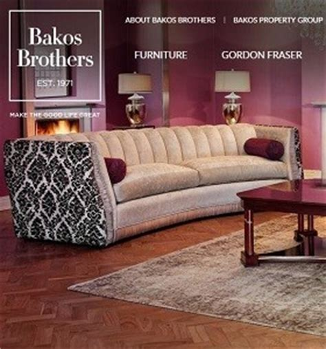 bakos brothers couches bakos brothers furniture catalogue