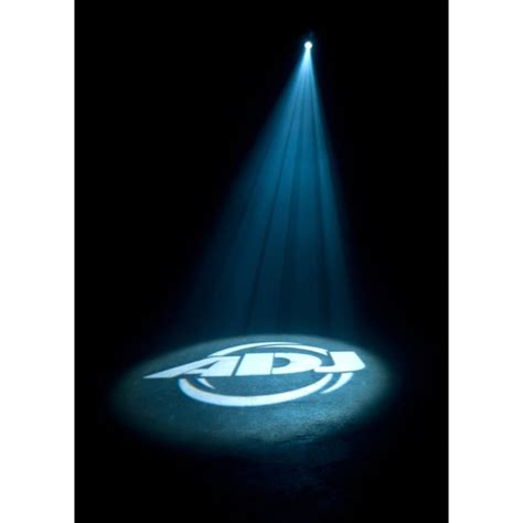 Long Light Fixture American Dj Bright White 60w Led Indoor Gobo Projector