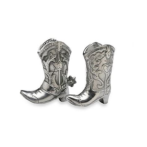 aluminium salts boots buy arthur court designs cowboy boot salt pepper shakers