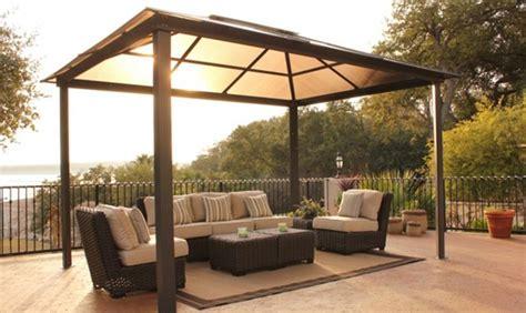 definizione veranda gazebo sul terrazzo per installarlo non servono permessi