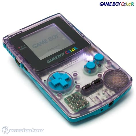 gameboy color shell mod gameboy color konsole atomic purple t 252 rkis custom case