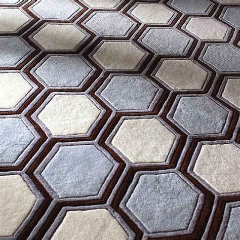 Hexagon Rug by 1000 Images About Modern Patterns Prints On