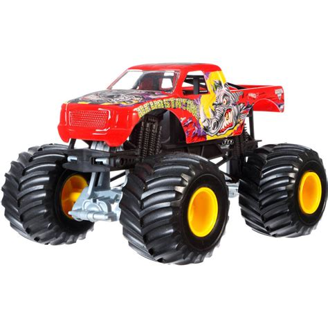 diecast jam trucks wheels jam truck crunch series mine