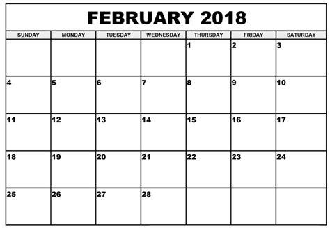 printable calendar editable 2018 february 2018 calendar editable calendar template letter