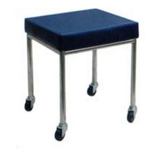 ward clinic furniture treatment stool mobile fixed height