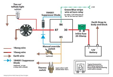 thermo fan wiring diagram 25 wiring diagram images