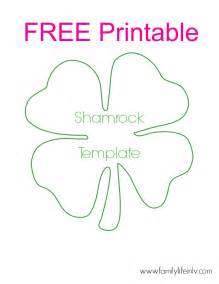 best photos of shamrock templates printable shamrock