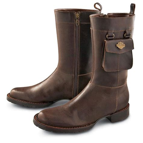 boots with pockets s harley davidson 174 mikka side pocket boots 90587