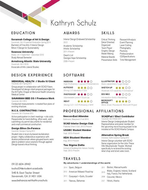 interior design resume on pinterest interior design interior design resume resume and design resume on pinterest