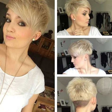 Short Layered Pixie Haircut With Undercut Pictures, Photos