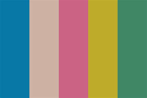 colour of 2016 spring 2016 color palette