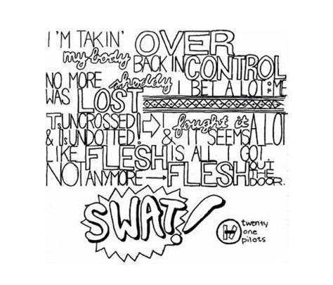 my coloring book lyrics twenty one pilots drawings coloring pages coloring