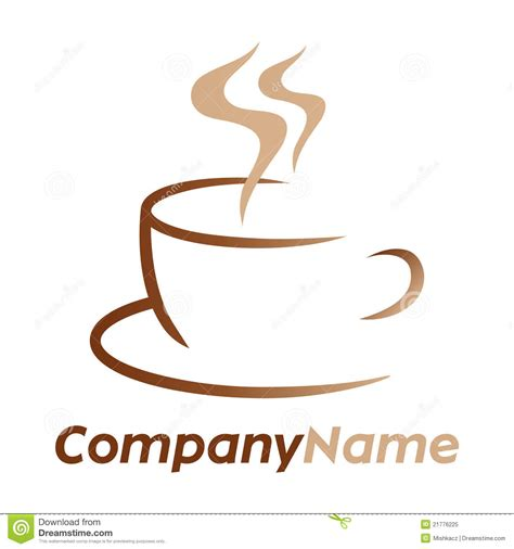 Coffee Icon And Logo Design Royalty Free Stock Photo   Image: 21776225