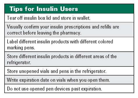 how can insulin be stored at room temperature insulin and medication errors