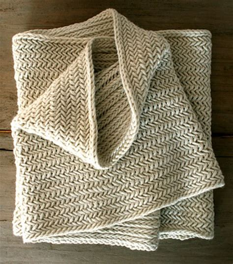 herringbone stitch knitting herringbone infinity scarf free knitting pattern