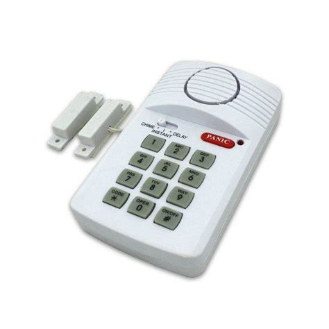 as seen on tv secure pro keypad alarm system 110db alarm
