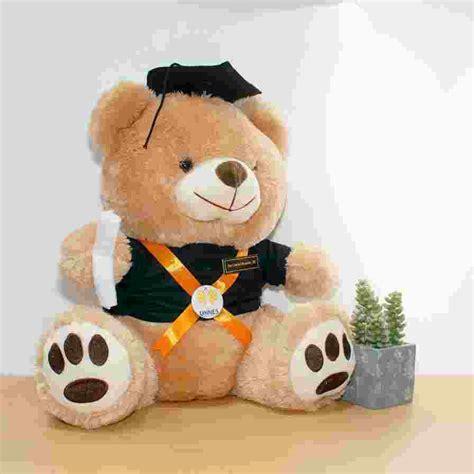 Boneka Wisuda 40cm toko boneka teddy mocca large 40 cm jogja kado wisudaku
