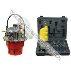 Brake Clutch Bleeding System Pneumatic Pressure Bleeder Tool Set Brake And Clutch