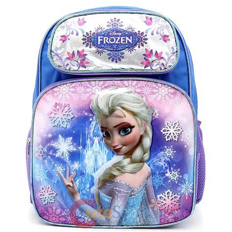 kz frozen bag import disney frozen elsa large school backpack 16 quot book