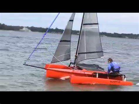 trimaran under sail weta trimaran under sail youtube