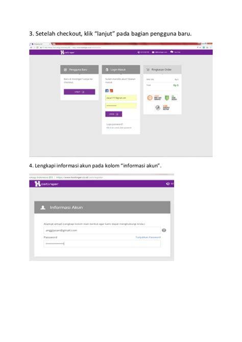 cara membuat web gratis hostinger cara membuat akun hostinger gratis