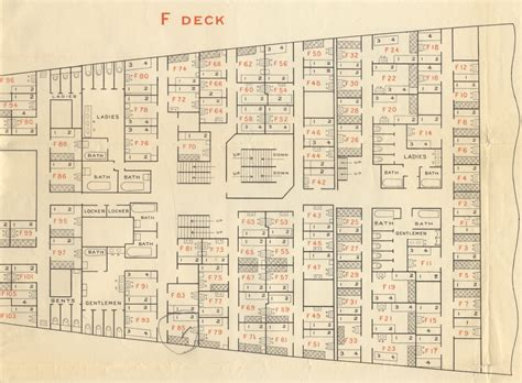 titanic floor plan wood work cabin plan titanic pdf plans