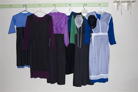 Plain White Duvet Covers Amish Dresses Photograph By Sally Weigand
