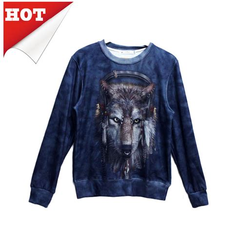 Hoodie Sweater Wolfs Premium wolf sweatshirts chinaprices net