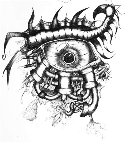 mechanical eye by cardi777 on deviantart