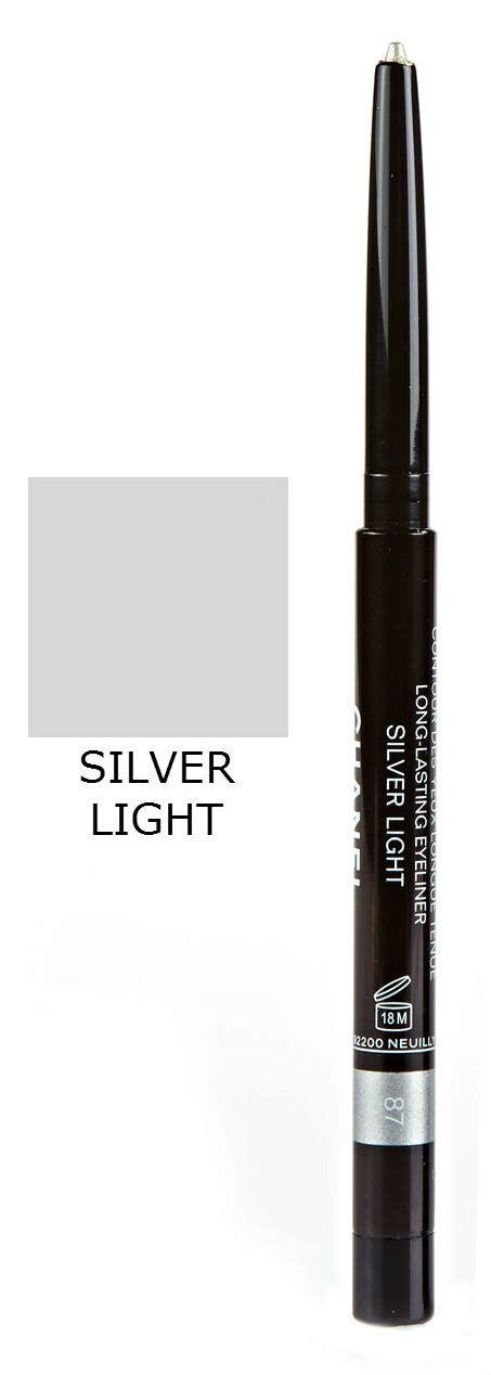 Eyeliner Davis Sliver Waterproof chanel stylo yeux waterproof lasting silver grey blue eyeliner pencil ebay