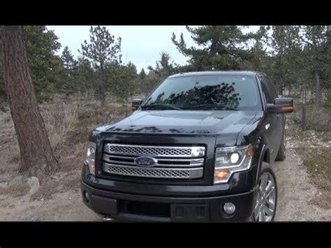 2013 ford f 150 ecoboost limited off road drive and review