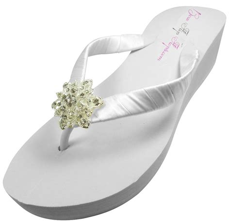 bridesmaid sandals wedding flip flops bridesmaid flip flops by bridalflipflops