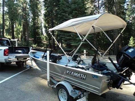 klamath boat bimini top used boats sell boats buy boats boats watercraft used