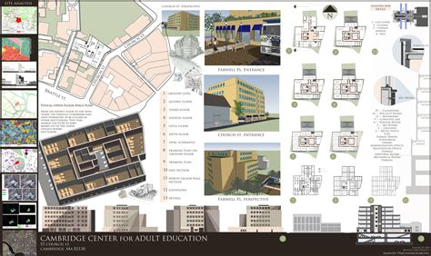 layout presentation board architecture design architecture design presentation