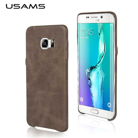 Samsung Galaxy S7 Edge Imak Back Cover Casing for samsung galaxy s7 egde usams soft for s7 edge leather back cover ultra slim for