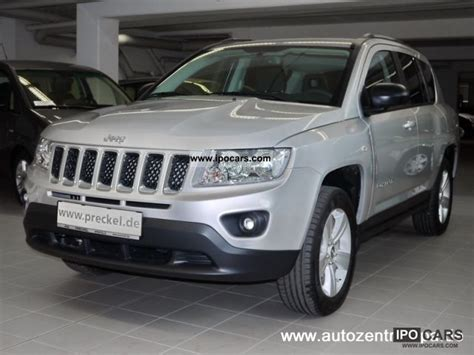Jeep Compass 4x2 2012 Jeep Compass Sport 4x2 2 0i Car Photo And Specs
