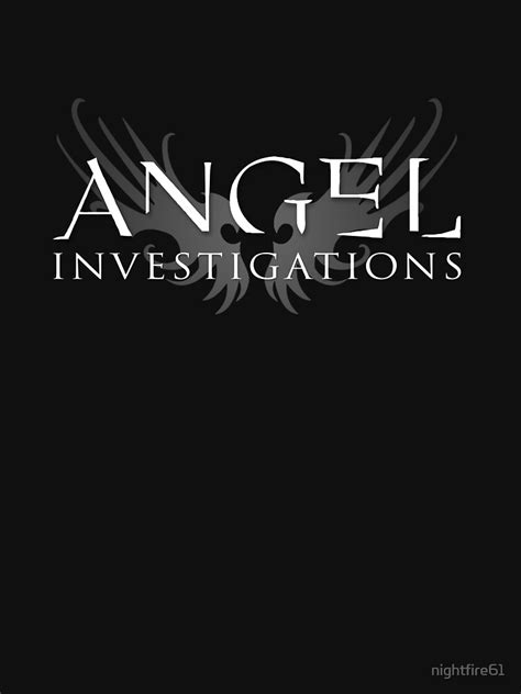 """Angel Investigations"" T-shirt by nightfire61 