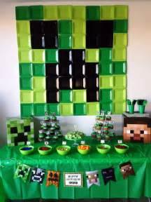 minecraft birthday decorations 17 best ideas about mine craft on
