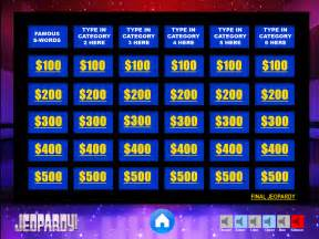 powerpoint jeopardy templates jeopardy powerpoint template youth downloadsyouth