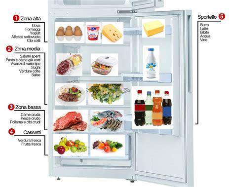conservazione degli alimenti in frigo come mettere i cibi in frigorifero consigli utili