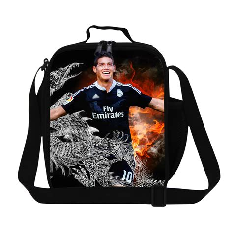 best gift soccer lunch bag for boys insulated lunch bags