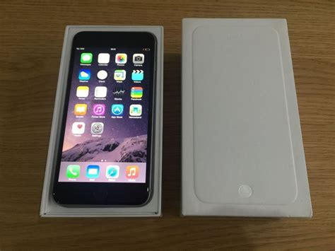 Apple Iphone 6 128gb Grey apple iphone 6 128gb space grey unlocked to 02 tesco and