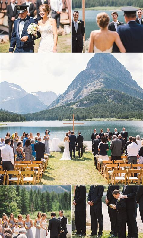 bethany & adam ~ glacier national park ~ montana wedding